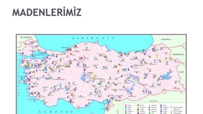 Türkiye Maden ve Altın Yatakları