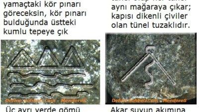 Çözülmüş Resimli Define İşaretleri 8